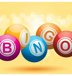 Bingo balls vector