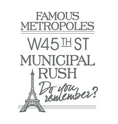 Paris fonts-type font type fashion print vector