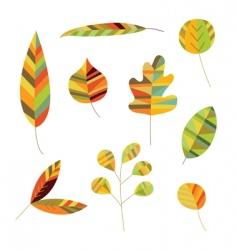 Decorative foliage vector