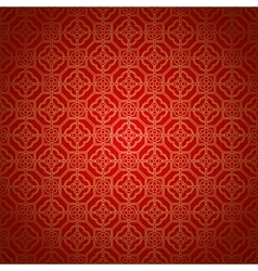 Arabic seamless ornament vector