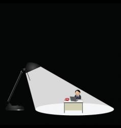 Lamp worker vector