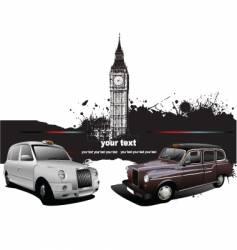 London taxicab vector