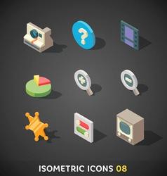 Isometricicons08 vector