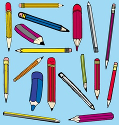 Pencil comics vector