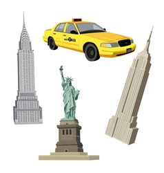 New york elements vector