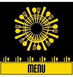 Sunshine menu vector