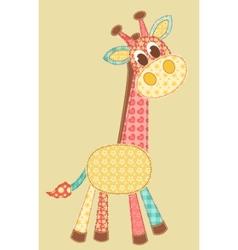 Application giraffe vector