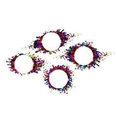 Spots and blots vector