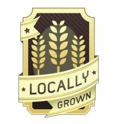 Locally grown package label vector