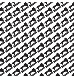 Seamless pattern background of air nailer vector