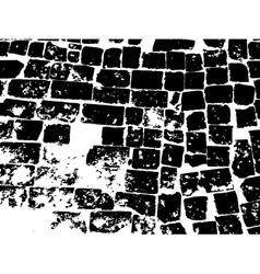 Vintage brick masonry vector