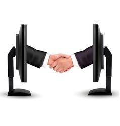 Virtual handshake vector