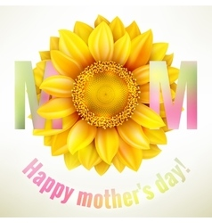 Happy mothers day background eps 10 vector
