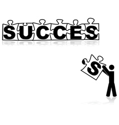 Missing piece for success vector