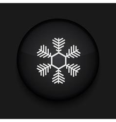 Snowflake icon eps10 easy to edit vector