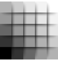 Abstract background with paper layers and shadows vector
