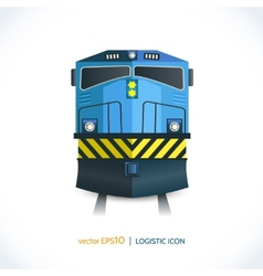 Logistic icon train vector