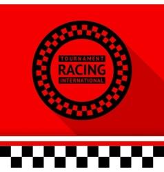 Racing stamp-03 vector