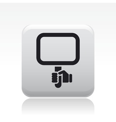 Cartel icon vector