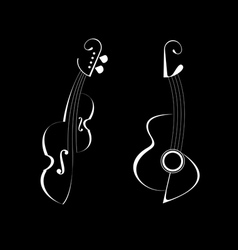 String musical instruments vector