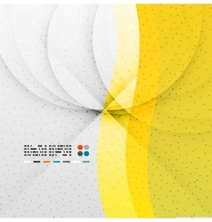 Yellow soft wave abstract background vector