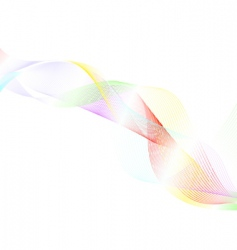 Colourful lines vector