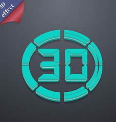 30 second stopwatch icon symbol 3d style trendy vector