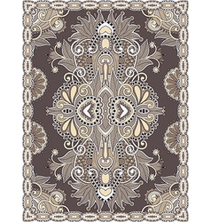 Carpet design vector