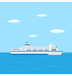 Ferry boat vector