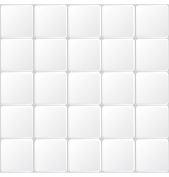White tile vector