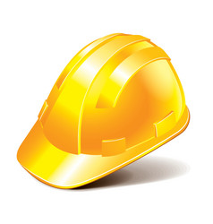 Object engineer helmet vector
