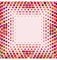 Geometric background design in different colors vector