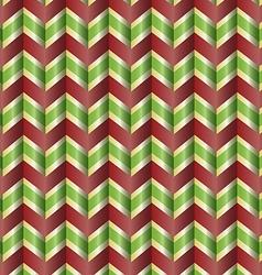Chevron holiday ribbon vector