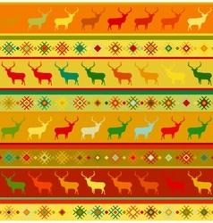 Norwegian seamless pattern eps 8 vector