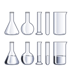 Object flasks vector