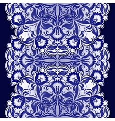 Filigree pattern with vintage ornament vector