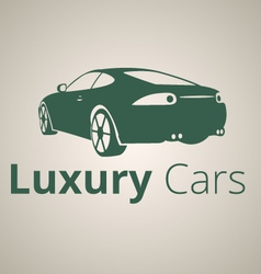 Luxury cars logo vector