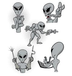 Alien action vector