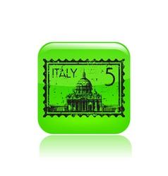Italy icon vector