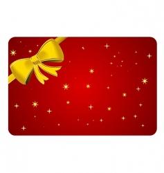 Christmas ribbon vector