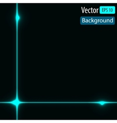 Dynamic background with bright lines vector