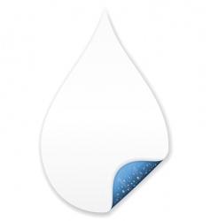 Feel water vector