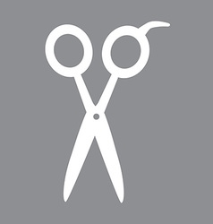 Scissors design vector