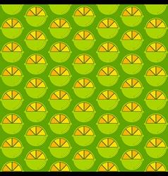 Creative lemon pattern design vector