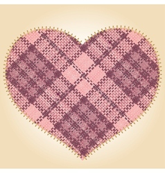 Patch heart vector
