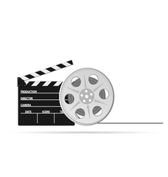 Film tape old part two vector