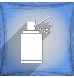 Aerosol paint icon symbol flat modern web design vector