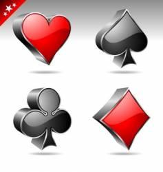 Casino collection vector