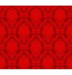 Damask seamless floral pattern royal wallpaper vector