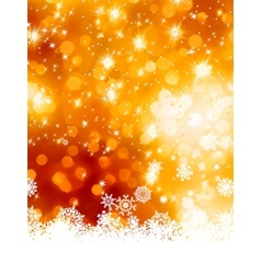 Abstract christmas with snowflake eps 8 vector